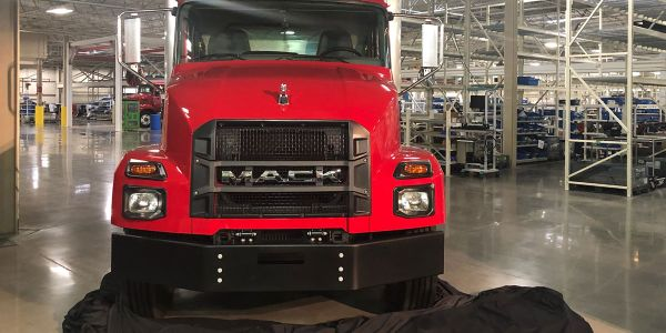 The Mack MD Series is an all-new model range built specifically for medium-duty applications.
