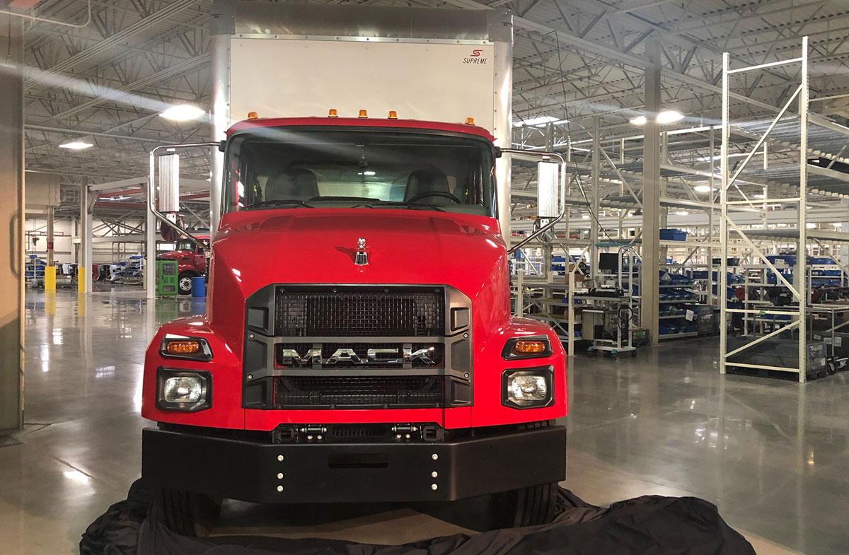 Mack Announces Medium-Duty Truck Line