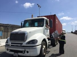 The Teamsters union has been challenging NFI's use of independent contractors, but a court ruling says new more stringent ABC test rules in California do not apply.