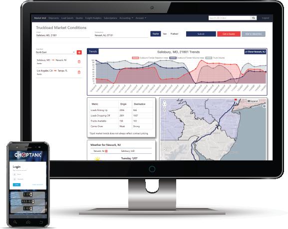 Choptank Transport Unveils Customer-Interfacing Freight Management Platform