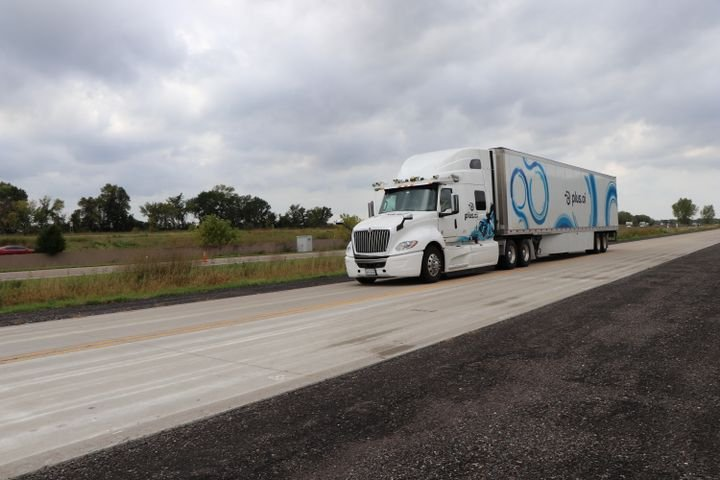 Plus.ai has already conducted testing of its autonomous trucks in 17 states and says it will be capable of doing so anywhere in the continental U.S. by year's end. 