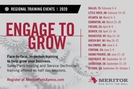Meritor Expanding Aftermarket Training, Online Parts System