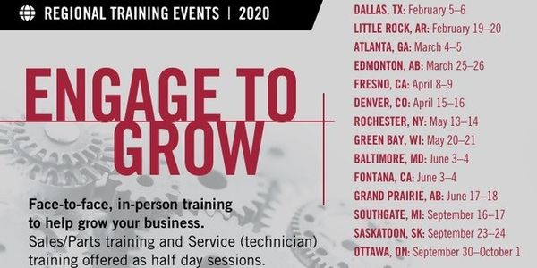 Meritor is offering regional aftermarket training events.