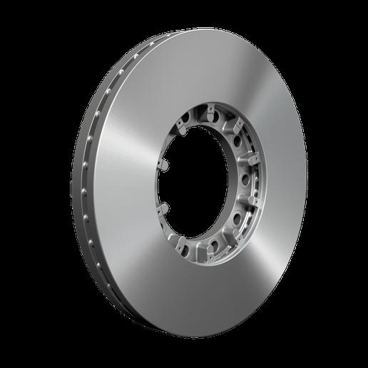 Meritor is offering all-makes air disc brake rotors. - Credit: Meritor