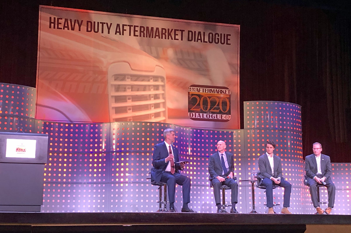 Electric Trucks Dominate Future-Tech Panel at Aftermarket Meeting