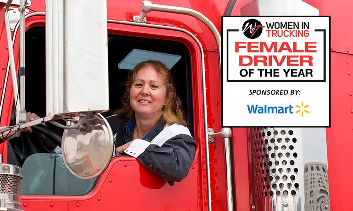 The grand prize winner will be chosen based on her safety record, impact on the industry's image, and positive community contributions. - Photo: Women in Trucking