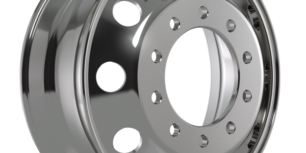 Accuride said its new, lighter, aluminum wheel endured more than two years of testing on...