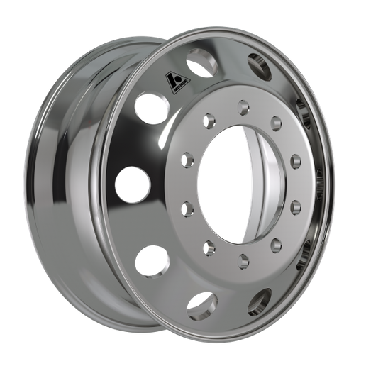 Accuride said its new, lighter, aluminum wheel endured more than two years of testing on Canadian highways.  - Photo: Accuride