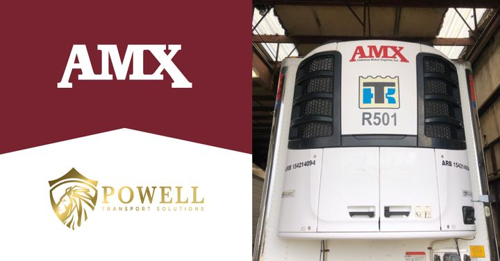 The Powell acquisition adds 25 power units and 35 refrigerated trailers to the AMX fleet.
