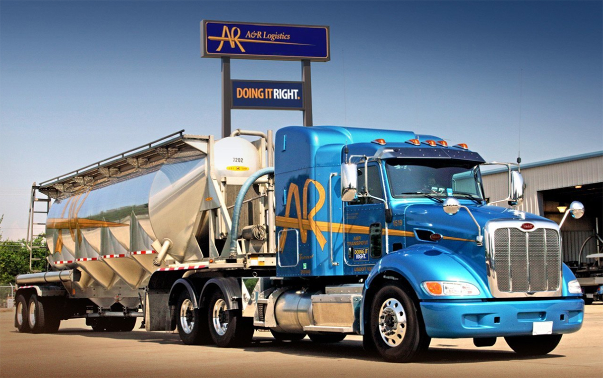 A&R Logistics Adds Liquid Chemical Fleet