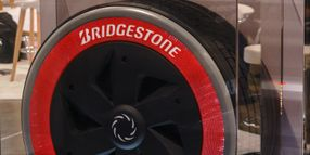 Bridgestone Explores Air-free Option with Commercial Concept Tire