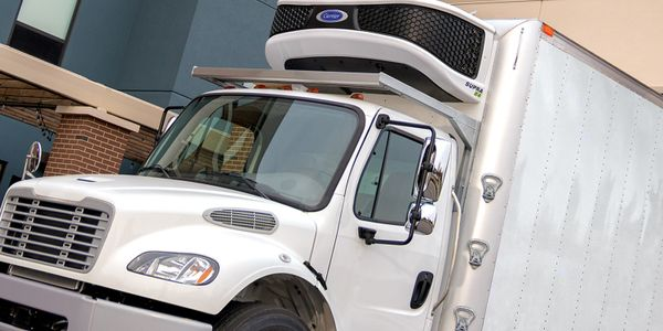 Carrier Transicold said its expanded line of Supra truck refrigeration units use 42% fewer...