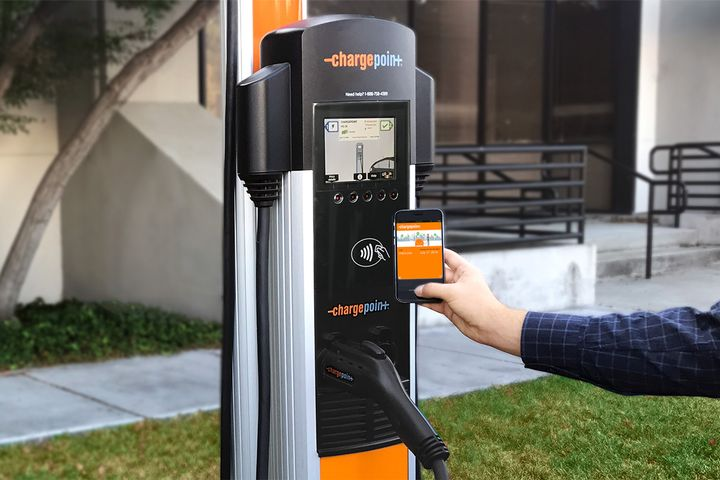 ChargePoint and Natso will leverage $1 billion in capital to deploy charging at more than 4,000 travel plazas and fuel stops across the country.  - Photo: ChargePoint