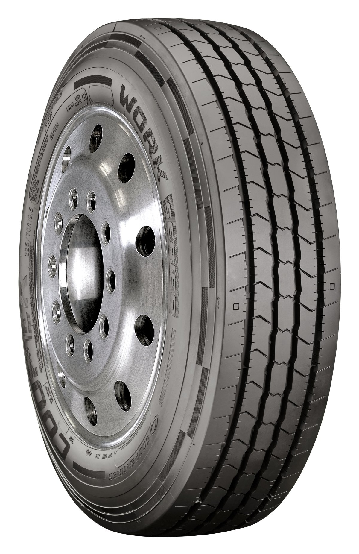 Cooper Debuts Two New 19.5-Tires for Class 4-6 Trucks