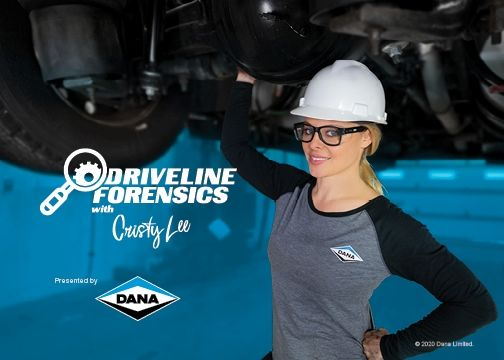 "Dana's ""Driveline Forensics"" series is hosted by Cristy Lee, a skilled technician, multimediapersonality, motorsports reporter, and avid motorcyclist. - Image: Dana"