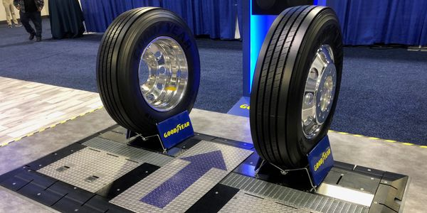 Goodyear said its new Complete Tire Management system enables fleets to focus on their fleet...
