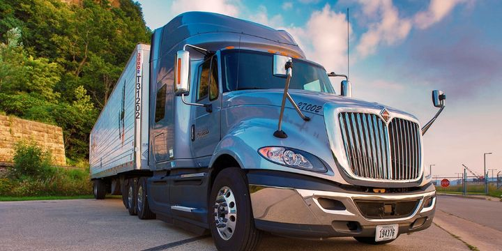 Hirschbach Motor Lines' drivers pay for certain comfort upgrades and that approach has helped to ensure they get the most coveted features in their trucks. - Photo:Hirschbach Motor Lines