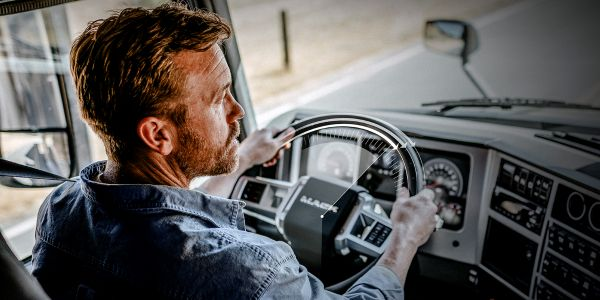 The advanced active steering system adds an electric motor to the existing hydraulic steering...