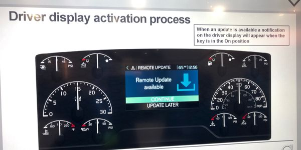 Volvo and Mack Over The Air Updates now allow drivers to begin powertrain software updates at...