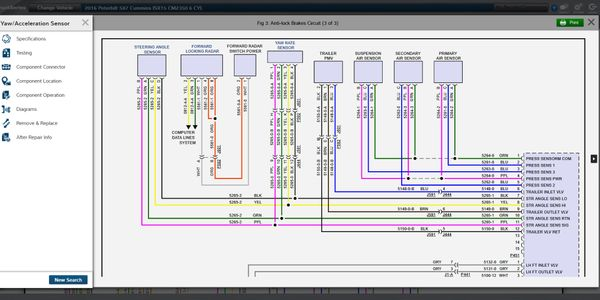 A software update makes wiring diagrams interactive.