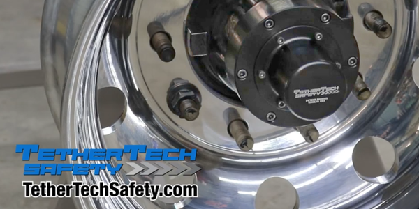 TetherTech Safety uses a thick steel cable running through the axle tube that is tethered to a...