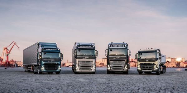 "The quartet of new models represents a ""big forward-looking investment,"" said Volvo Trucks..."