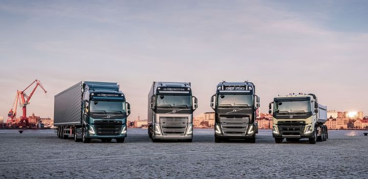 "The quartet of new models represents a ""big forward-looking investment,"" said Volvo Trucks President Roger Alm. - Photo: AB Volvo"