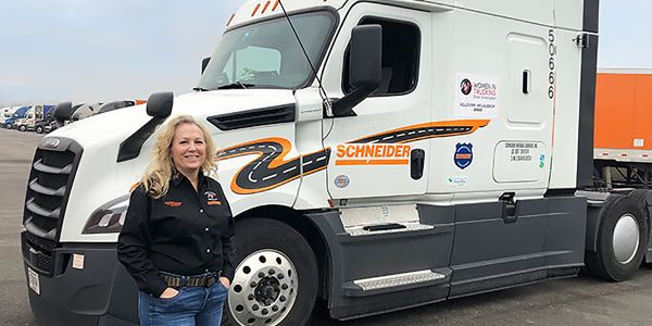 Schneider's Kellylynn McLaughlin has been named the first Driver Ambassador within Women In...