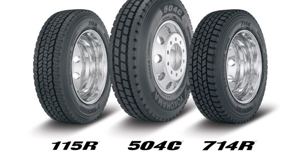 Yokohama will be displaying its all-position 504C and 115R tires, as well as its urban...
