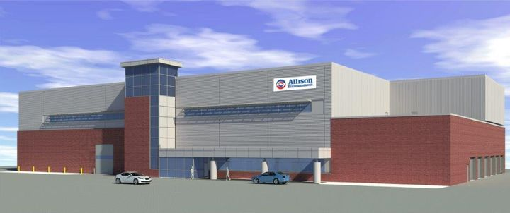 Allison Transmission said its new Vehicle Environment Test Center, slated to open in July, will allow it and its OEM partners to bring new technology and products to market faster and more efficiently. - Photo: Allison Transmission