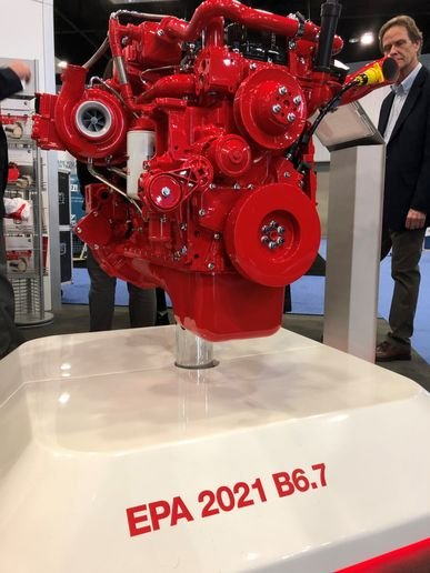 With the recent CARB and EPA certifications of the B6.7, all Cummins Westport natural gas engines now have near-zero certifications. - Photo: Jim Park