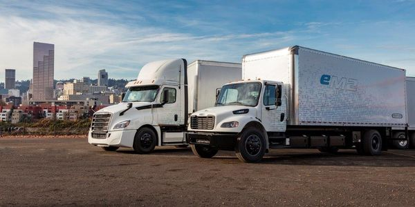 Freightliner is preparing to put eight new electric trucks in the hands of fleet customers to...