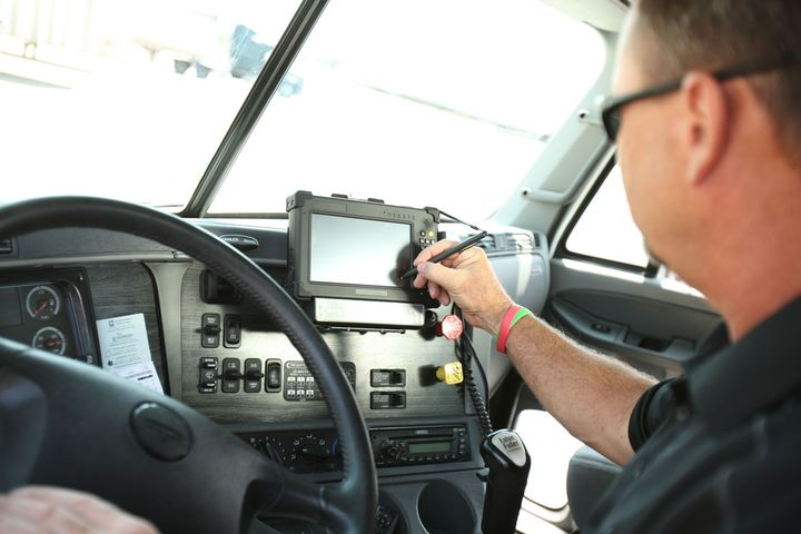 A final rule that would give drivers more flexibility under hours-of-service rules is under review at the White House.  - Photo: PeopleNet