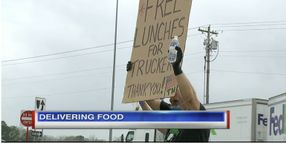 Truckers Greeted With Free Meals During COVID-19 Crisis