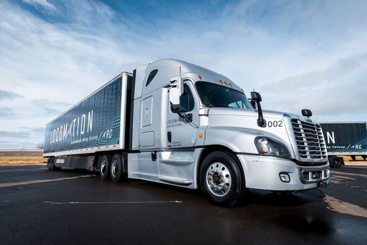 Locomation trucks are expected to begin operations at Wilson Logistics in the spring of 2020, eventually operating more than 62 two-truck convoys on routes throughout the United States. - Photo: Locomation