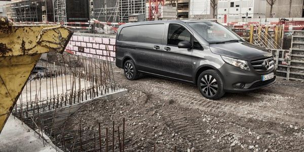 The 2020 Mercedes-Benz Metris van features an air suspension option developed specifically with...