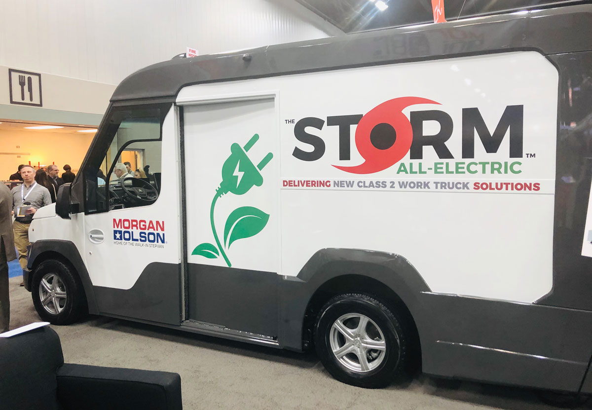 Morgan Olson Reveals Class 2 Gasoline or Electric Step-Van Prototype