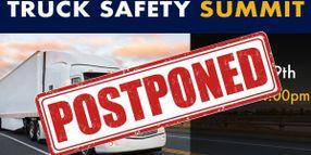 FMCSA Postpones Truck Safety Summit
