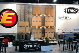 Strick Elevator Allows 25% More Freight in a 28-Foot Pup Trailer