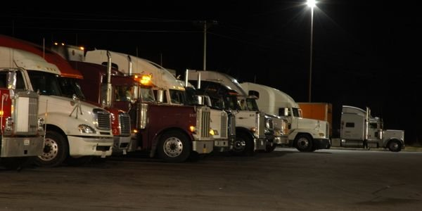 Among other things, the FAQ addresses what drivers should do if they are unable to find truck...