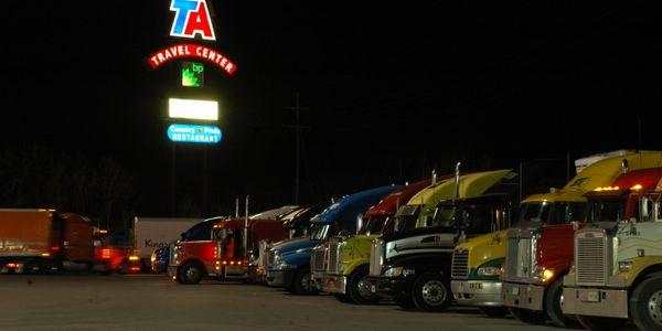 A new bill would address truck parking.