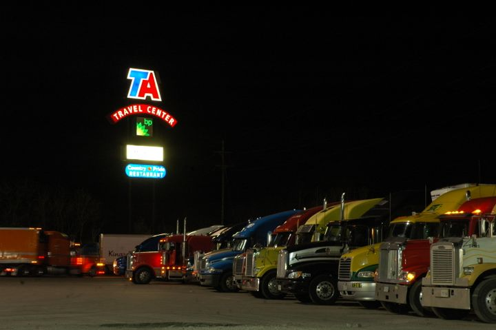 A new bill would address truck parking.