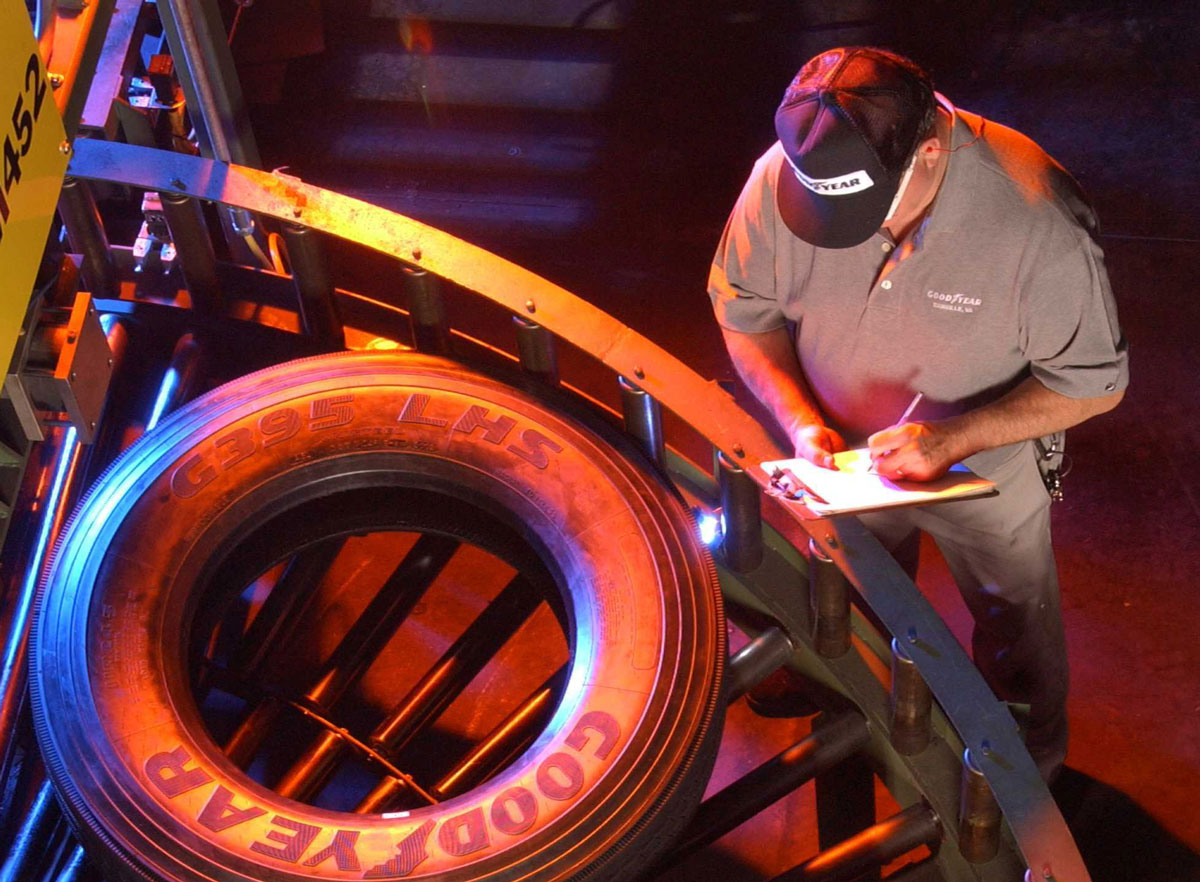 Goodyear Extends Tire Production Shutdown 'Until Further Notice'