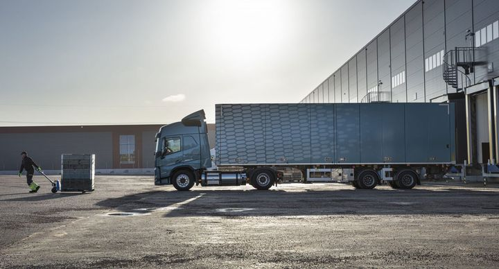 The Volvo FM LNG