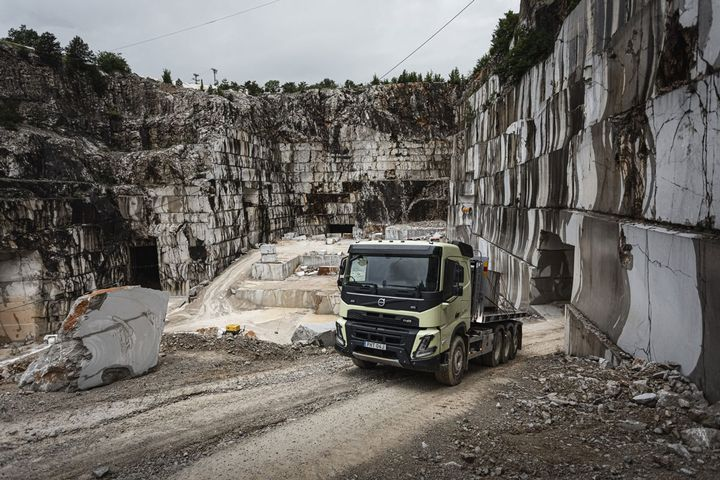 The Volvo FMX