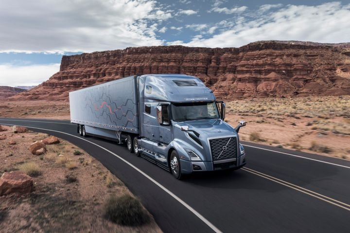 As the nation grapples with the COVID-19 outbreak, it has been truckers keeping store shelves stocked and the economy afloat. And the public has noticed.  - Photo: Volvo Trucks North America