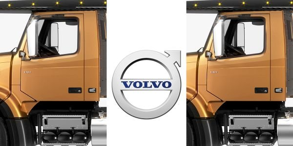 The new Volvo VAH 300 day cab can now be specified with a 94.5-inch unladen cab height.