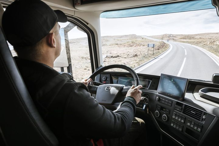 Volvo said its new trucks are focused on the driver.