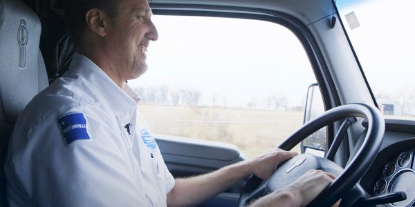 Walmart driver Robert Sullivan started driving for the company two years ago.