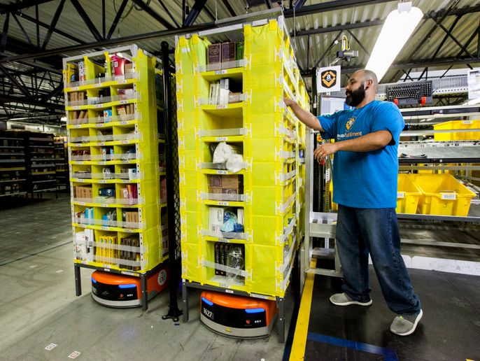Amazon fulfillment centers have been hit by high demand for supplies related to the Coronavirus/COVID-19 epidemic.